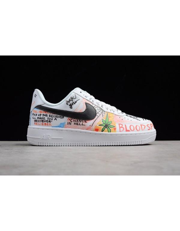 Custom Pauly x Vlone Pop Nike Air Force 1 Low Graf...