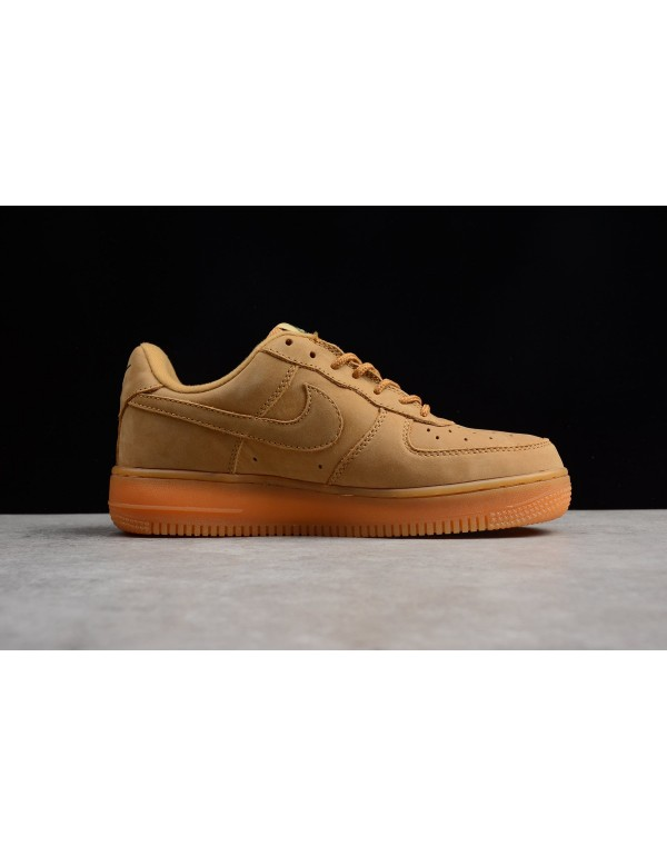 Latest Nike Mens and WMNS Air Force 1 Low Wheat Fl...