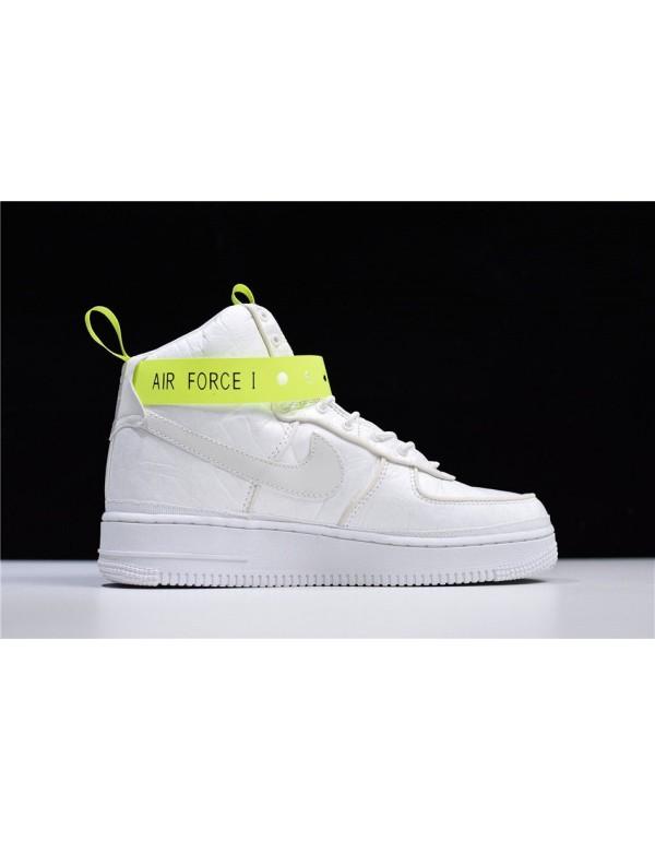 Magic Stick x Nike Air Force 1 High VIP White/Volt...