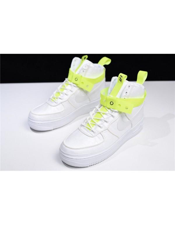 Magic Stick x Nike Air Force 1 High VIP White/Volt-Black 573967-101