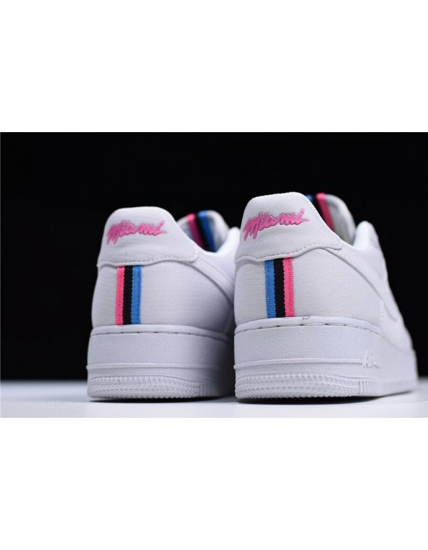 Nike Air Force 1 Low Premium iD Miami Heat City Edition Free Shipping