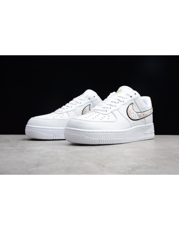 Men's and Women's Nike Air Force 1 LNY White/Habanero Red A09381-100