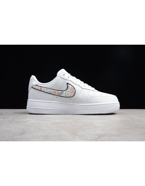 Men's and Women's Nike Air Force 1 LNY White/Haban...