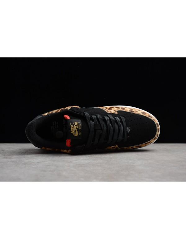 Men's and Women's Nike Air Force 1 Low LHM Los Primeros Black/Multi-Color AH7738-001