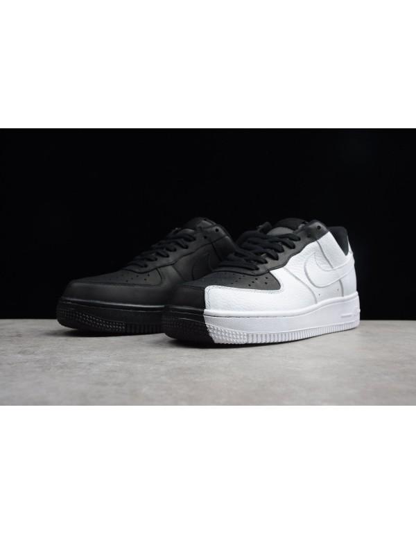 Men's and Women's Nike Air Force 1 Low Split Black/White 905345-004