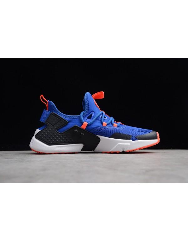 Men's Nike Air Huarache Drift BR Racer Blue/Black-...