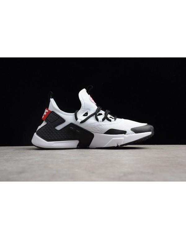 Men's Nike Air Huarache Drift BR White/Black-Red R...