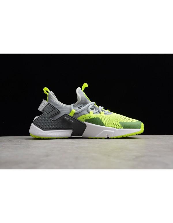 Men's Nike Air Huarache Drift BR 6 Wolf Grey/Volt ...
