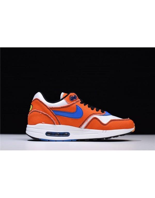 Custom Dragon Ball Z x Nike Air Max 1 Goku Orange/...