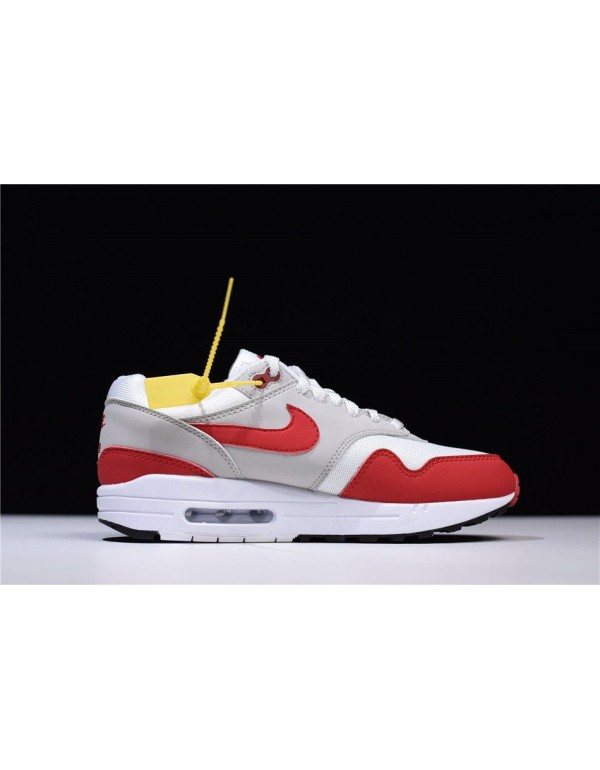 Men's and Women's Nike Air Max 1 OG Anniversary Wh...