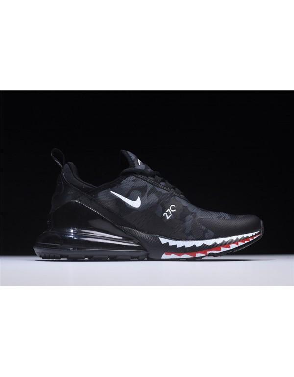 Men's A Bathing APE x Nike Air Max 270 Black Camo ...