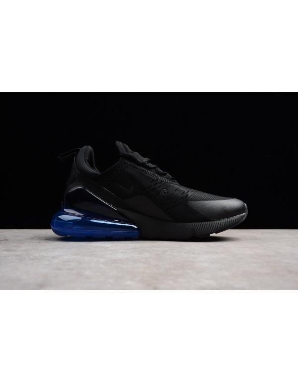 Men's and Women's Nike Air Max 270 Photo Blue Blac...