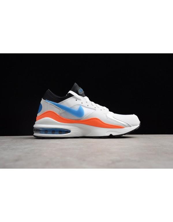 Men's Nike Air Max 93 Blue Nebula White/Blue Nebul...