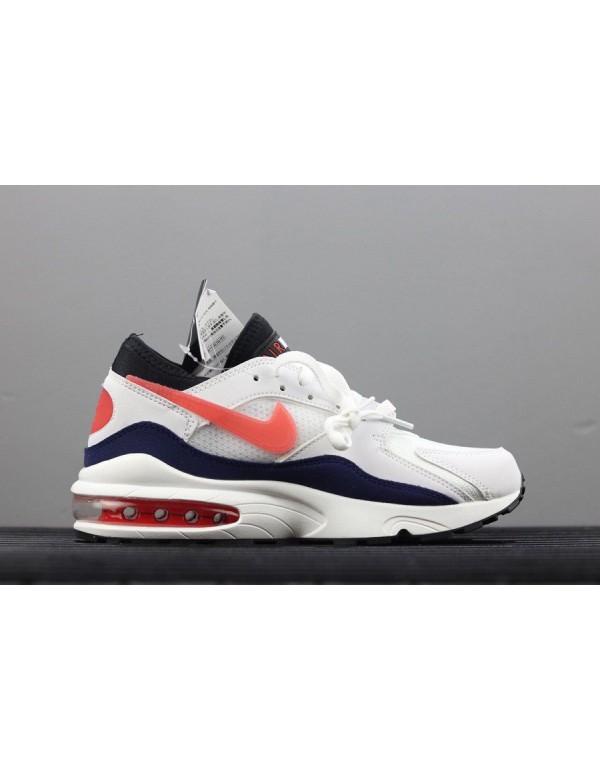 Men's Nike Air Max 93 OG Flame Red White/Habanero ...