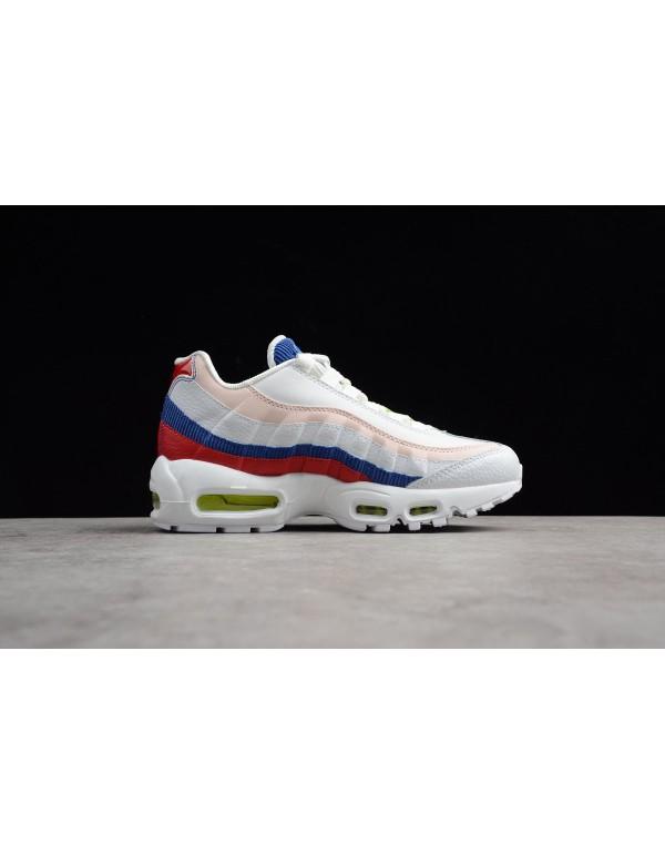 Men's and Women's Nike Air Max 95 Corduroy White M...