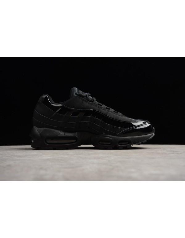 Nike Air Max 95 Black/Black-Black Men's Running Sh...