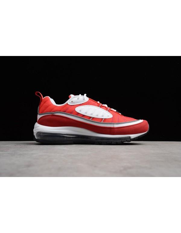 Men's Nike Air Max 98 OG Gym Red AH6799-101 For Sa...