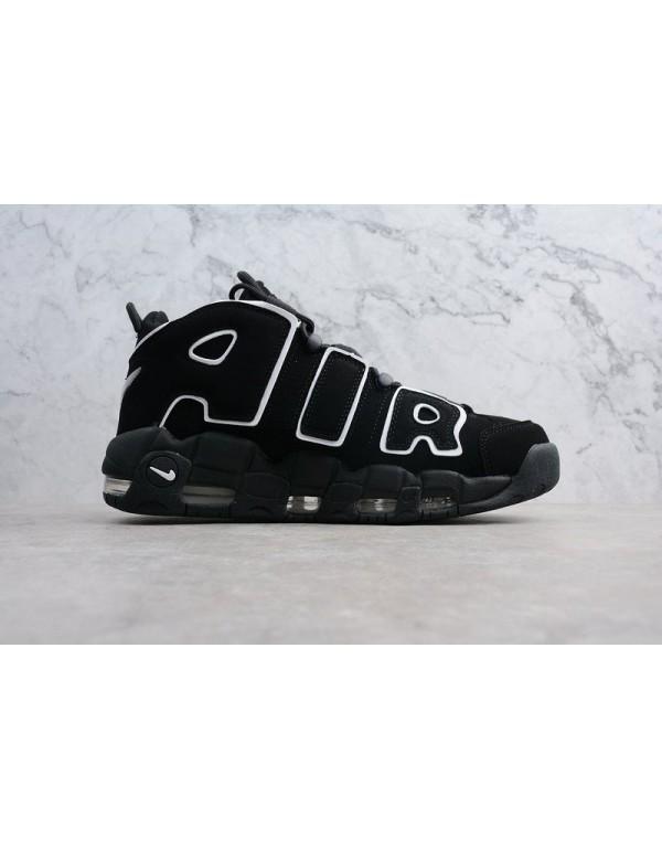 Mens and WMNS Nike Air Uptempo OG Black/White 4149...