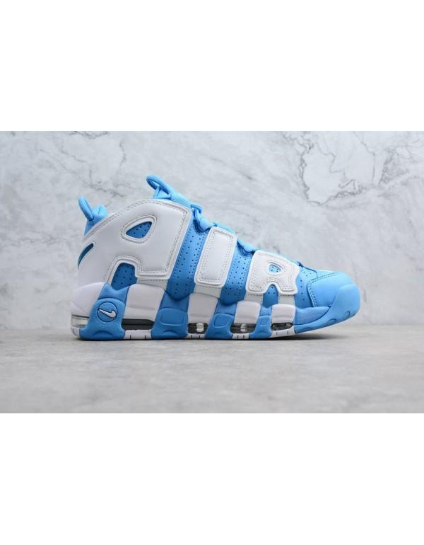 Men's Nike Air More Uptempo UNC University Blue/Wh...