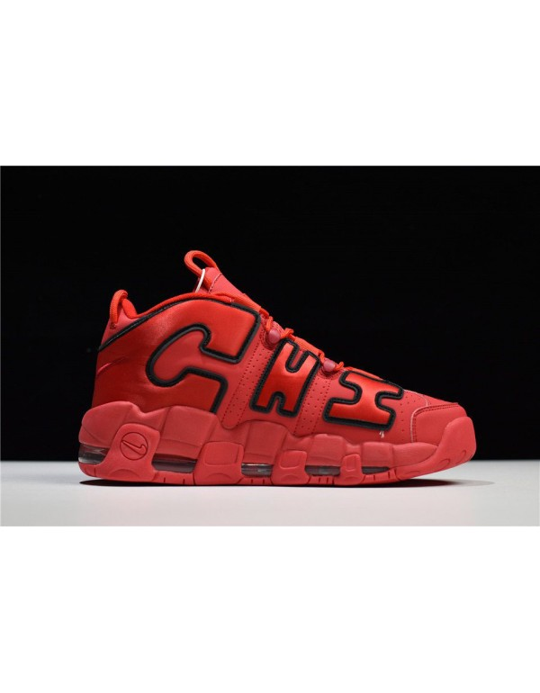 Nike Air More Uptempo Chi QS Chicago University Re...