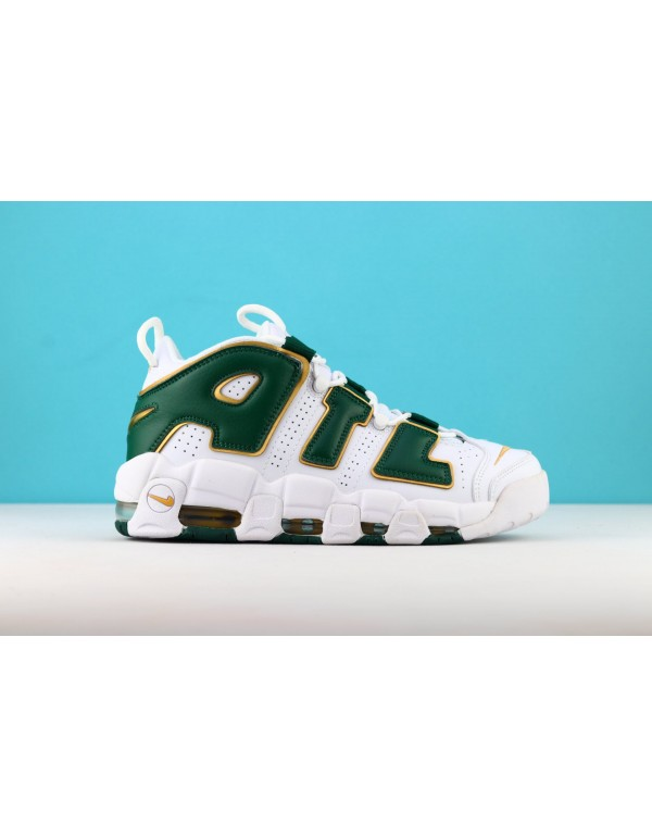 Nike Air More Uptempo ATL QS White/Gorge Green/Met...