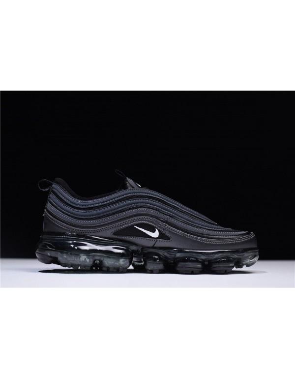 Nike Air VaporMax 97 Black Reflect Triple-Black Ru...