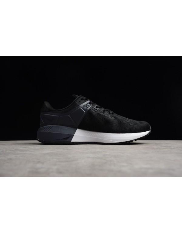 Nike Air Zoom Structure 22 Black/White-Gridiron AA...