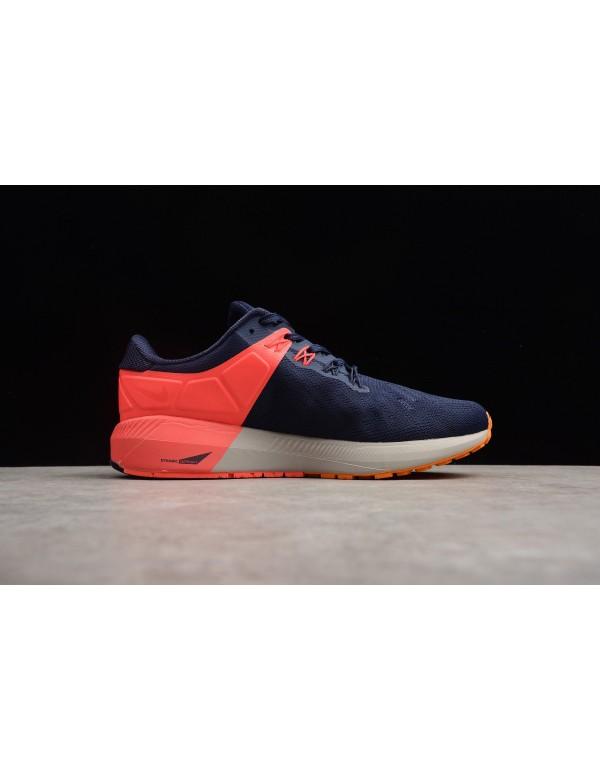 Nike Air Zoom Structure 22 Blackened Blue/Orange P...