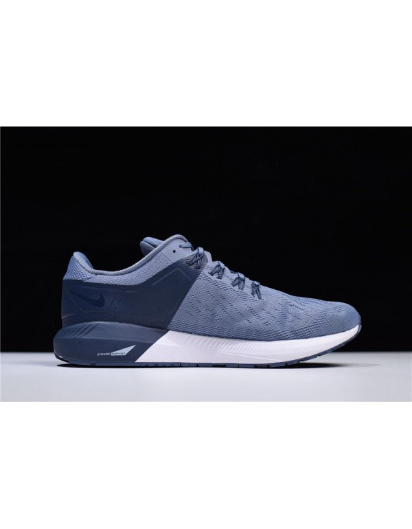 Nike Air Zoom Structure 22 Navy Blue/White AA1636-...