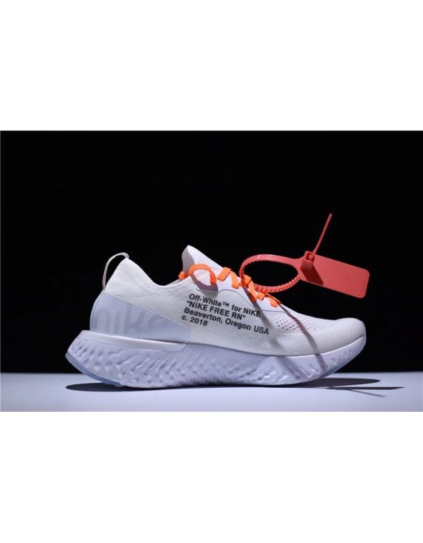 Men's and Women's Size Off-White x Nike Epic React...