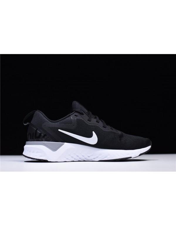 Men's Nike Odyssey React Black/Wolf Grey-White AO9...