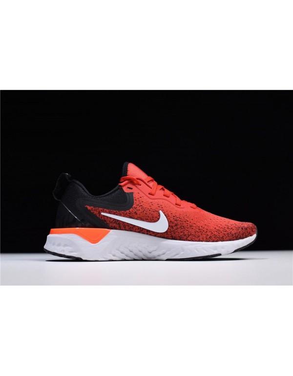 Men's Nike Odyssey React Habanero Red/Black-White ...