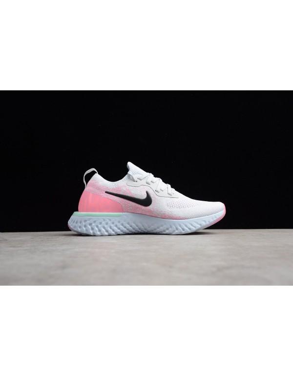 Womens Nike Epic React Pink Beam Pure Platinum/Hyd...