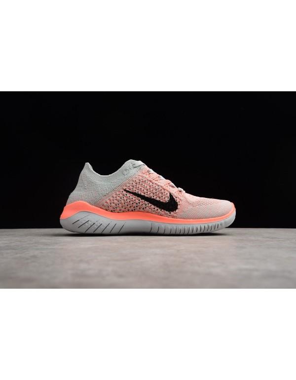 Nike Free Run Flyknit 2018 Crimson Pulse/Pure Plat...