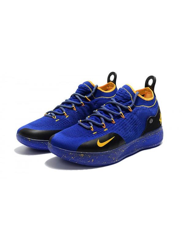 Kevin Durant's New Nike KD 11 Purple Black Yellow ...