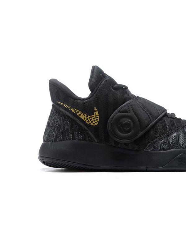 Nike KD Trey 5 VI Black Gold Men's Basketball Shoe...