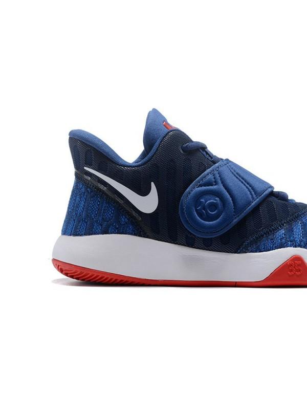 Nike KD Trey 5 VI Navy Blue/White-Red Men's Basket...
