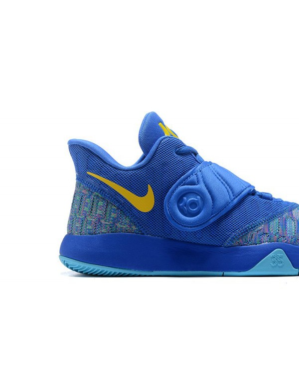 Nike KD Trey 5 VI Signal Blue/Yellow Men's Basketb...