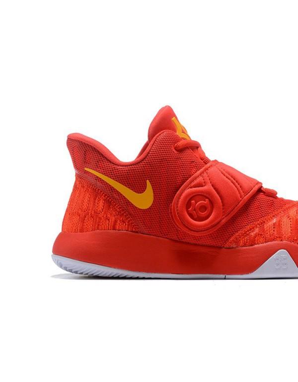 Nike KD Trey 5 VI University Red/Yellow Men's Bask...
