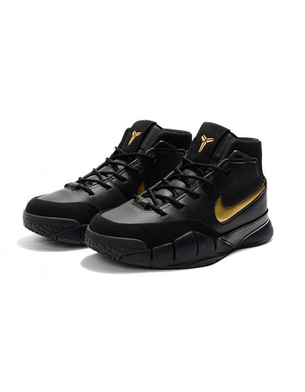 Nike Zoom Kobe 1 Protro Mamba Day Black/White-Meta...