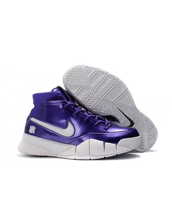 Nike Zoom Kobe 1 Protro Purple Patent Leather For ...