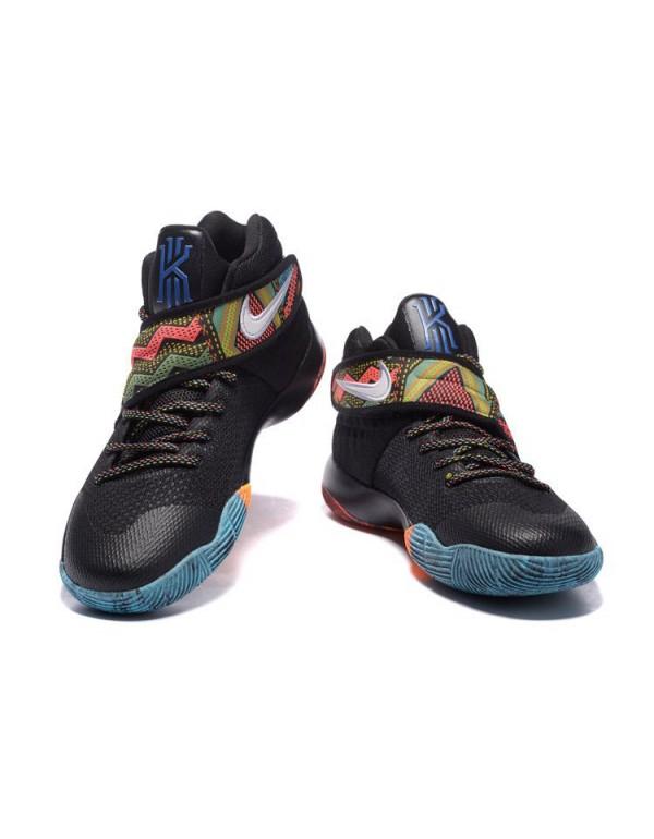 Nike Kyrie 2 BHM Black/Multi-Color For Sale