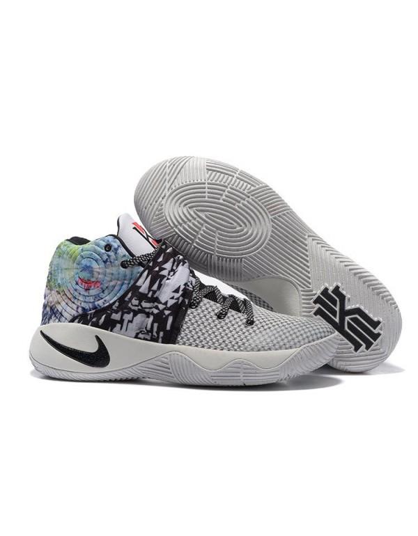 Nike Kyrie 2 Effect Multi-Color/White-Black For Sa...
