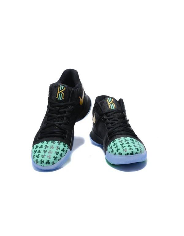 Kyrie Irving's Shamrock Nike Kyrie 3 PE Basketball...