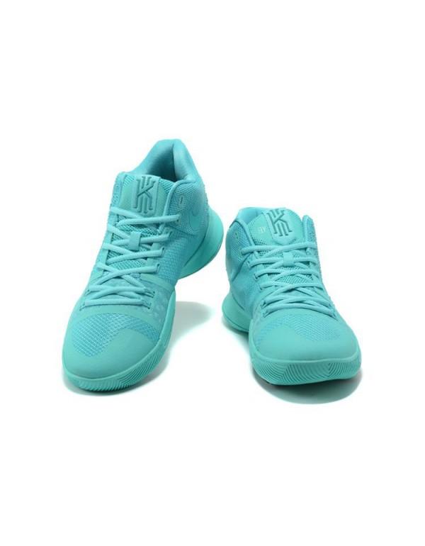 Latest Nike Kyrie 3 Aqua Men's Basketball Shoes 85...