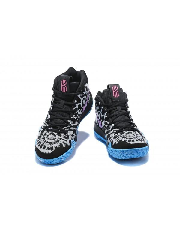 All-Star Nike Kyrie 4 Tie Dye Black/White/Blue/Pin...