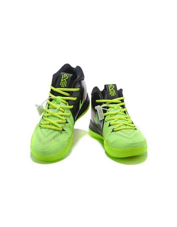 Cheap Nike Kyrie 4 Neon PE Black Volt Red Free Shi...