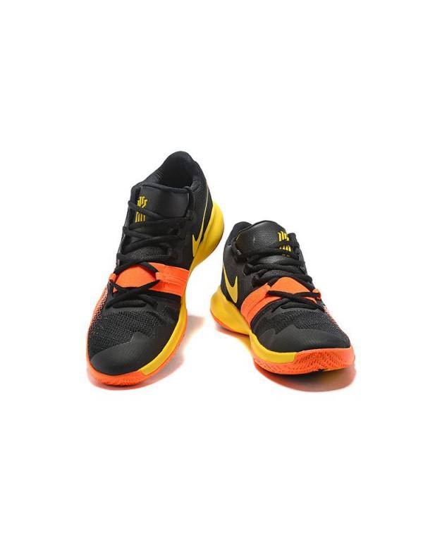 Nike Kyrie Flytrap Black/Orange-Yellow Men's Shoes...