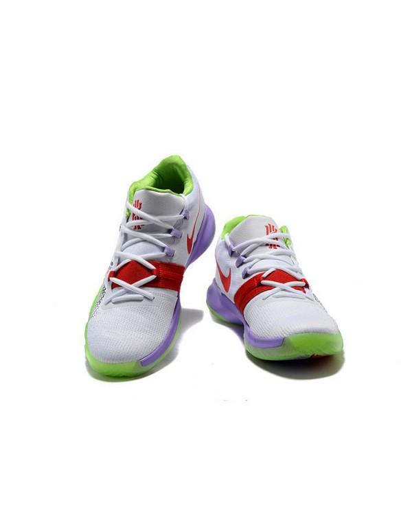 Men's Nike Kyrie Flytrap White/Black/Red/Purple/Gr...