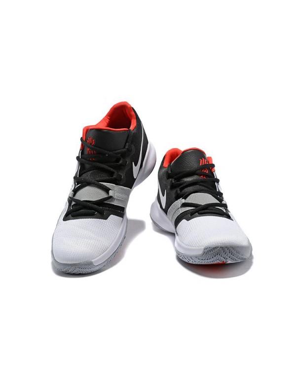Nike Kyrie Flytrap White/Black-University Red Men'...